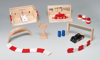 Race Track Expansion Set L – Racing