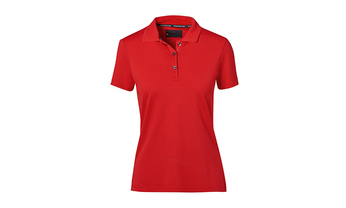 Polo-Shirt, Damen, rot