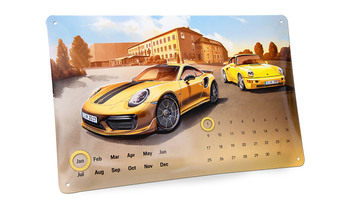 Blechkalender 911 Turbo S Exclusive